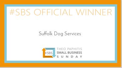 Suffolk Dog Services Theo Paphitis #SBS Winner